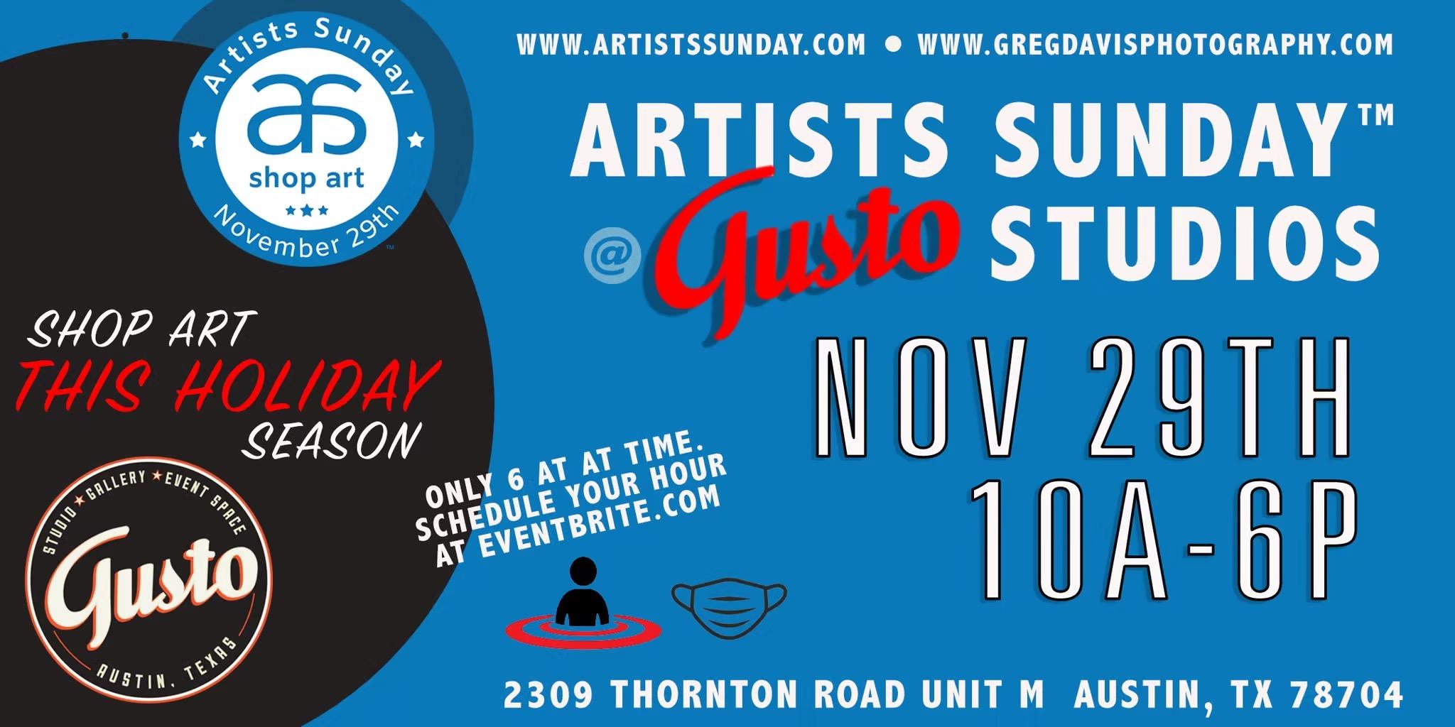 Artists Sunday Open Studio