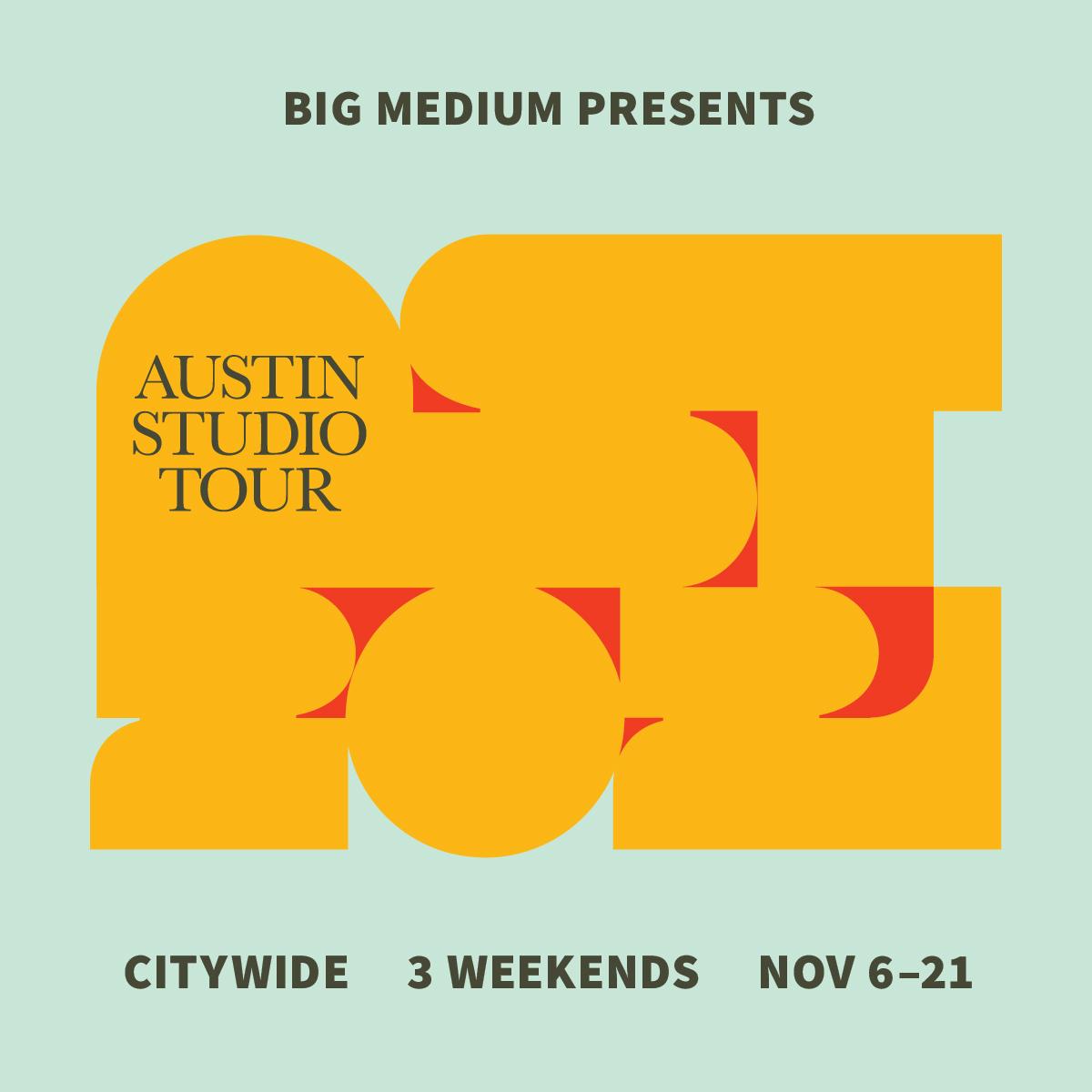 (WEST) Austin Studio Tour-Gusto Open 2 Weekends!